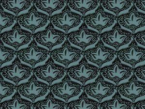motif du XVIII coloré à la façon du XIXe siecle reinterpreté par sophie de boissieu reinterprété