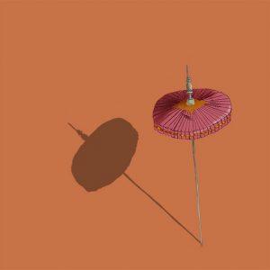 dessin illsutration ombrelle orange SS-birmanie-sophie de Boissieu