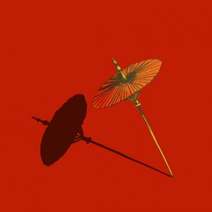ombrelle rouge - birmanie-sophie de Boissieu dessin illustration