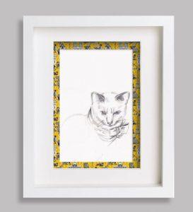portrait-animalier-marie-louise-jaune sophie de boissieu