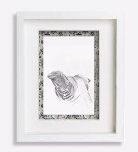 portrait animalier croquis dessin-au-crayon-dos-du-corniaud-shaq-sophie-de-boissieu-