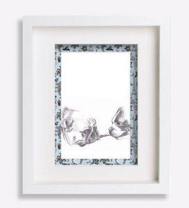 portrait animalier croquis dessin-au-crayon-du-boston-terrier-et-du-bouledogue-français--sookie-et-mélisse-sophie-de-boissieu-