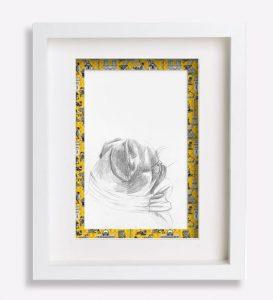 portrait animalier crqouis dessin-au-crayon-du-petit-brabançon-robespierre-sophie-de-boissieu-