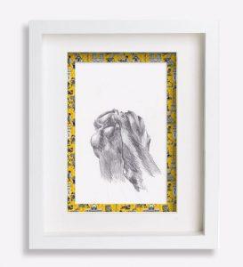 croquis dessin-au-crayon-patte-bouledogue-français-yucca-sophie-de-boissieu-